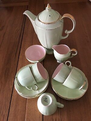 crown devon fieldings Coffee Set