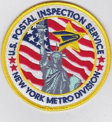 New York US Postal Inspection Service Statue of Liberty Patch