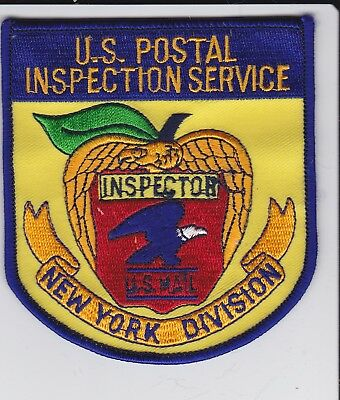 New York US Postal Inspection Service Inspector Patch
