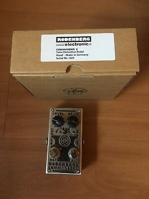 Rodenberg electronic Commander 2 -Twin- Distortion Pedal, sehr guter Zustand