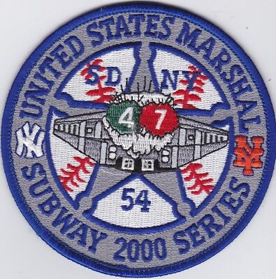 2x US Marshal Southern District of New York Subway 2000 Series
