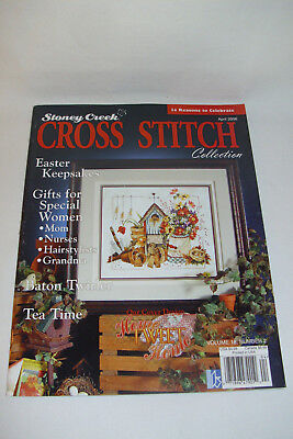 Kreuzstich Stickvorlagenheft - Stoney Creek Cross Stitch Collection