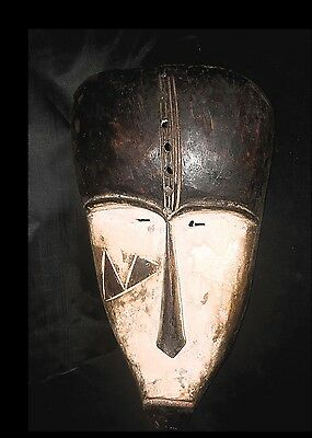 Fang Mask African Tribal Art Gabon Ola0031