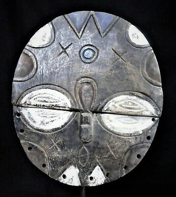 The African Teke Shield Mask Gabon OLA011