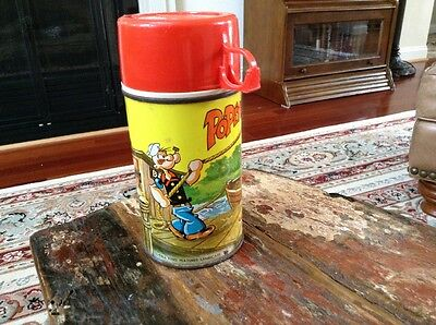 Vintage 1964 Popeye Thermos Bottle #2882 King Seeley
