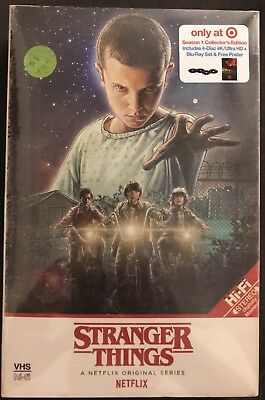New Stranger Things Season 1 4K Ultra Hd Blu Ray Target Exclusive Vhs Packing