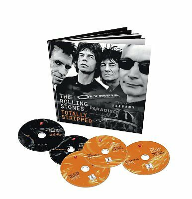 The Rolling Stones: Totally Stripped Collector Edition 4 Blu-Ray + Cd, Hardbook