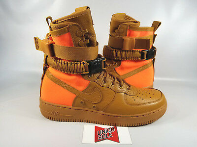 ca9e2fff1f7 Nike Air Force 1 AF1 SF DESERT OCHRE TAN ORANGE SPECIAL FIELD 903270-778 sz