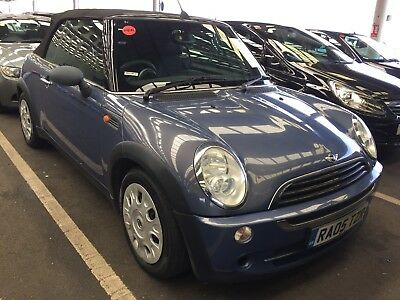 05 Mini One 1.6 Cabro ** Oct 2018 Mot, 6 Services Roof Opens To Stage One.