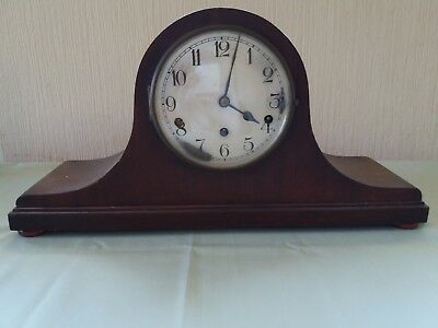 Antique Clock -  Napolean Hat Style - Kienzle - Made In Germany -  No Key
