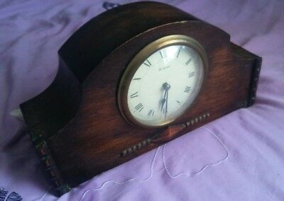Vintage French 8 day mantle clock