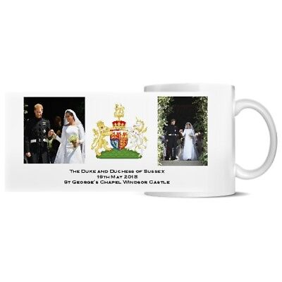 Duke and Duchess of Sussex Harry and Meghan Royal Wedding MUG