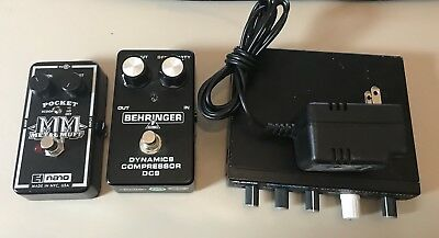 Electro-Harmonix Alesis Effects Lot pedals Distortion Reverb