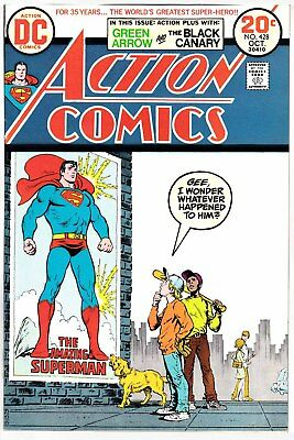 Action Comic 428 Oct 1973, Very Fine (8.0)