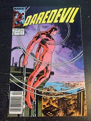 Daredevil#241 Incredible Condition 9.4(1987) Early Mcfarlane Art, Zeck Cover!!