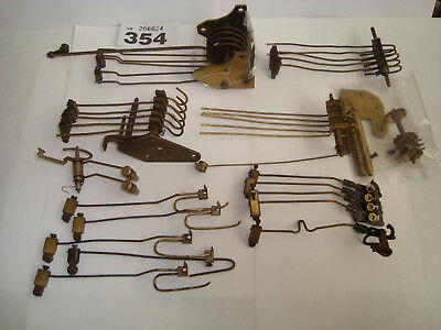 Assorted Used Mantle Type Clock Chime Hammers parts Clockmaker Steampunk LOT 354