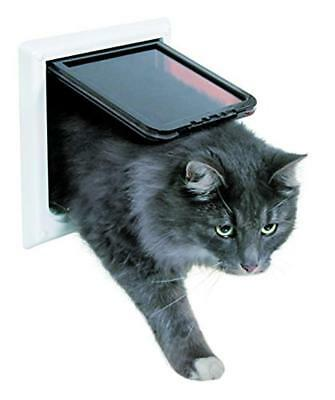 Trixie 3867 4-way Cat flap with tunnel bianco - NUOVO