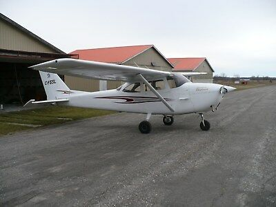 Airplane Cessna 172G 490 Smoh 5960 Tt Ifr Equipped Hangared At Cyrp/ottawa