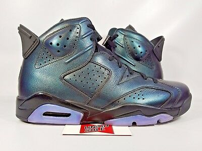 NEW Nike Air Jordan VI 6 Retro ALL STAR CHAMELEON GREEN BLACK 907961-015 sz bf6c16dd9