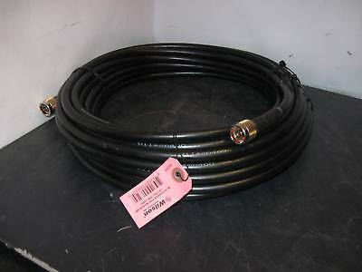 Wilson 50' ultra low loss coax extension cable 951106 LMR 400 type N QTY&