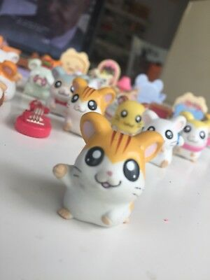 HAMTARO Rare Retired Toy Figures Hamsters  Accessories Anime Japanese