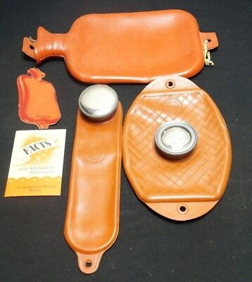 B.F. Goodrich Rubber Company Hot Water Bottle Set of 3 Advertising Brochure