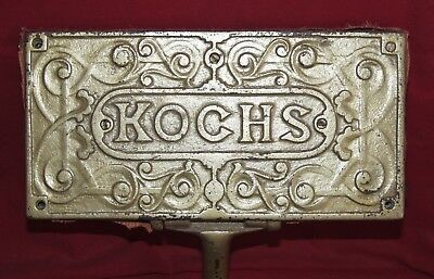Very Old Kochs Barber Chair Foot Rest