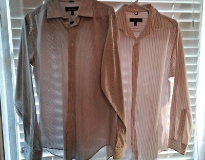 Lot of 2 men's Kenneth Cole Size M shirts NWOT Nice