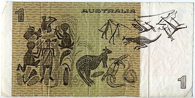 $1 Dollar Australian bank note