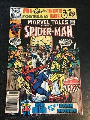 Marvel Tales Starring Spider-Man#133 Incredible Condition 9.0(1981) 1st Mirage