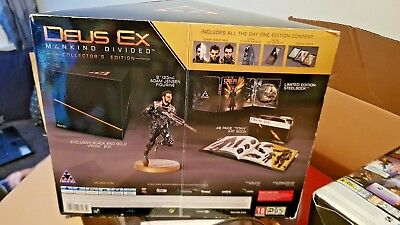 Deus Ex: Mankind Divided Sony Ps4/PlayStation 4 Collectors Edition New & Boxed+