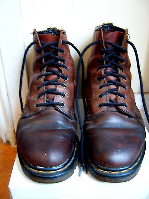 Doc Martens leather Boots- Size 8