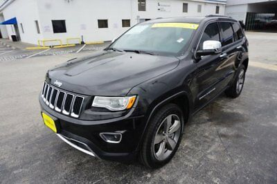 2015 Jeep Grand Cherokee Limited 2015 Jeep Grand Cherokee Limited 52,818 Miles Brilliant Black Crystal Pearlcoat