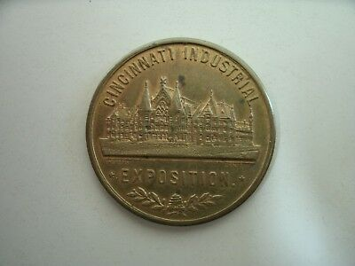 CINCINNATI INDUSTRIAL EXPOSITION GOOD LUCK PIECE in GREAT CONDITION