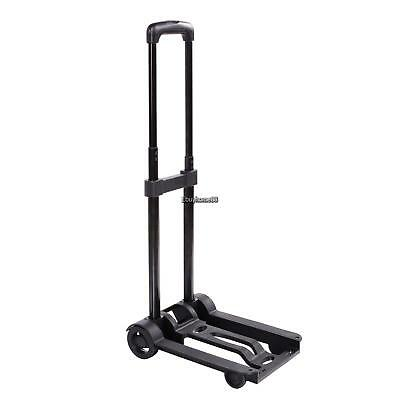 Heavy Duty Folding Sack Hand Trolley Barrow Truck Cart Platform Truck 40KG Wheel