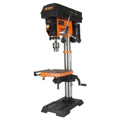 Drill Press 12 In Table Bench Top Laser Centering Woodworking Variable Speed
