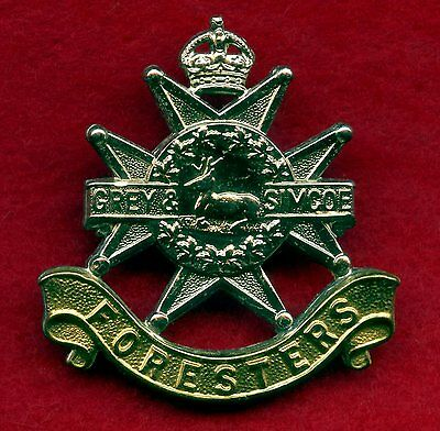 WW2 Canada Grey Simcoe Foresters Cap Badge