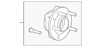Ford Oem Front Hub Bearing 8f9z1104c