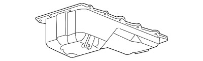 Ford Truck 4x4 Rear Sump 429 460 Oil Pan Kit