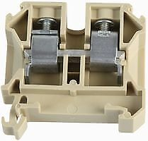 TERMINAL BLOCK DIN 87A BUFF Connectors Terminal Blocks - CZ56774