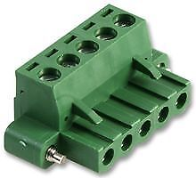 TERMINAL BLOCK FEMALE FLANGED 5 POLE Connectors Terminal Blocks - CZ55500