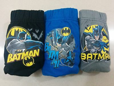 Boys/girls 3 pack  character pants / briefs Superman,