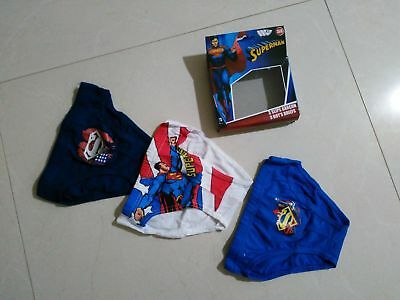 Boys/girls 3 pack  character pants / briefs Superman, Peppa