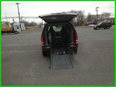 Ford Freestar SE VAN WHEELCHAIR HANDICAP REAR ENTRY FORD FREESTAR SE2007 SE Used 3.9L V6 12V
