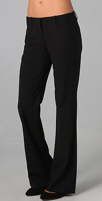 "Theory ""Max C"" Black Wool Pants Size US 6 AU 10-12"