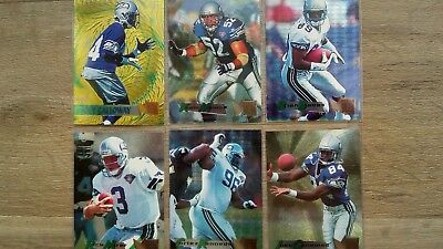 6 NFL Trading Cards, Seattle Seahawks