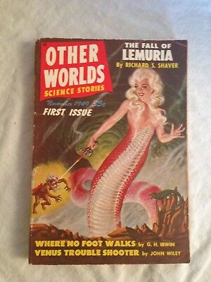 Other Worlds - First Issue, November 1949 - Richard S Shaver, Raymond Palmer, SF