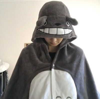 Totoro cape/cloak - As New - cosplay/anime/fancydress