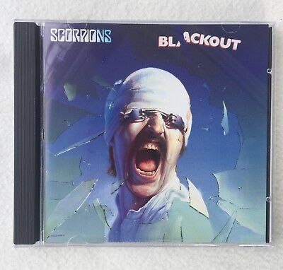### Scorpions Blackout Metal Rock Album CD Top