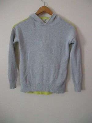 SEED HERITAGE BOYS KNIT JUMPER HOODIE TOP SIZE 8, Excellent Condition
